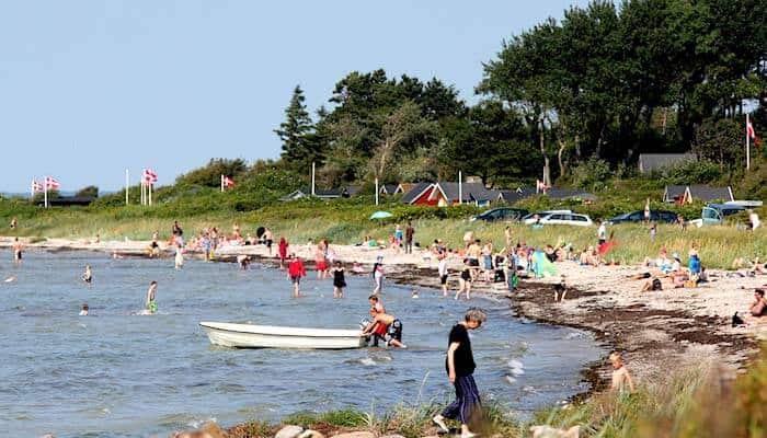 Ferienhaus Urlaub in Ärösköbing auf Ârö