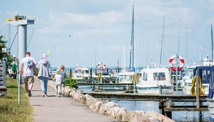 Ferienhäuser bei Assens Marina