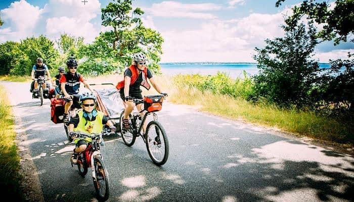 Fahrradtour auf Fünen - Ferienhaus Fünen