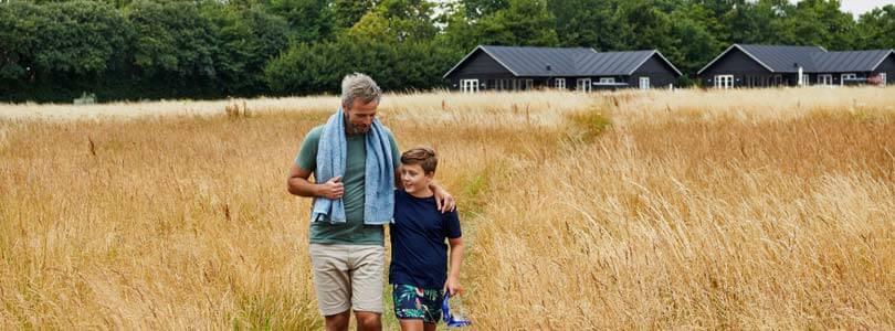 Ferienhäuser bei Middelfart auf der Insel Fünen in Dänemark