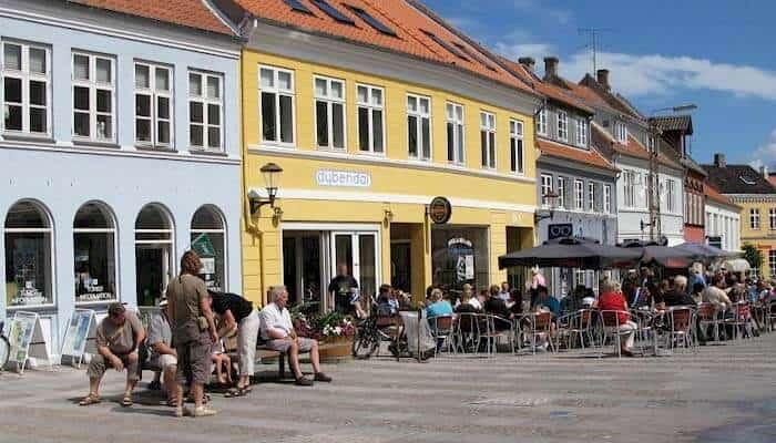 Ferienhaus Urlaub in Rudkøbing auf Langeland