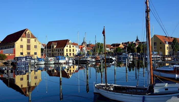 Svendborg auf Insel Fünen