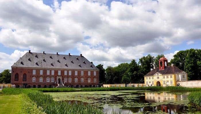 Schloss Valdemar auf Tåsinge bei Svendborg