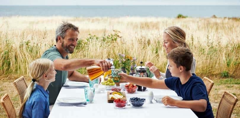 Ferienhaus Urlaub am Wasser - Ferienhaus Fünen